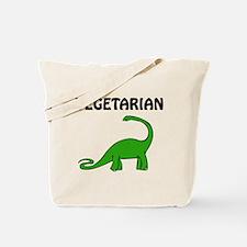 Vegetarian Brontosaurus Tote Bag