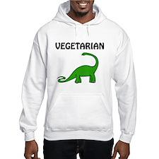 Vegetarian Brontosaurus Hoodie