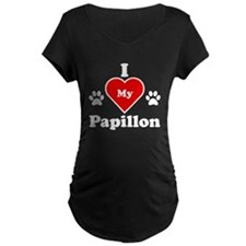 I Heart My Papillon T-Shirt