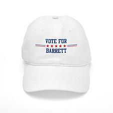 Vote for BARRETT Baseball Cap