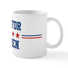 Vote for CAMREN Coffee Mug