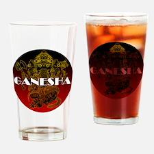 Ganesha 01 Drinking Glass