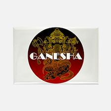 Ganesha 01 Rectangle Magnet