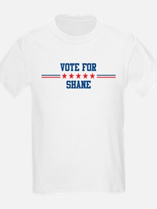 Vote for SHANE Kids T-Shirt