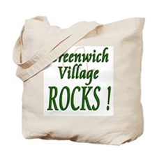 Greenwich Village Rocks ! Tote Bag