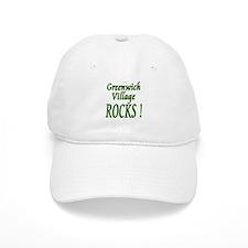 Greenwich Village Rocks ! Baseball Cap