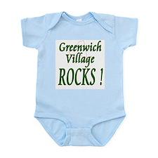 Greenwich Village Rocks ! Infant Bodysuit