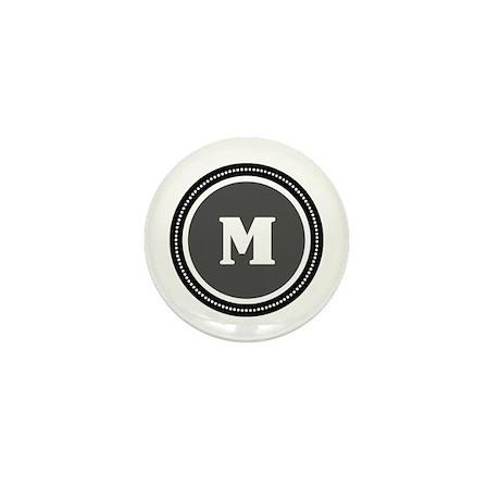 Gray Mini Button