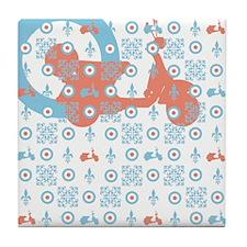 Cute Sherman girl Tile Coaster