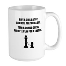 teach a child shirt Mugs