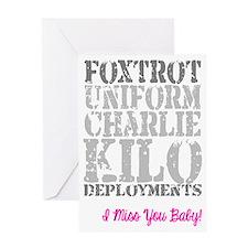Foxtrot Uniform Charlie Kilo Deployments Card