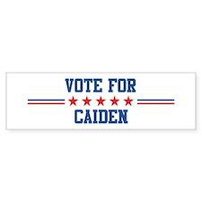 Vote for CAIDEN Bumper Bumper Bumper Sticker
