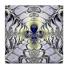 Purple Window Tile Coaster
