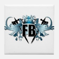 Frost Blizzard/Brothers Logo Tile Coaster