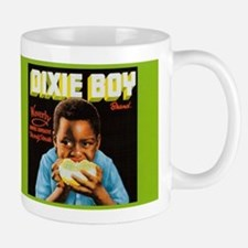 Dixie Boy Crate Label Vintage Art Mugs