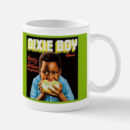 Dixie Boy Crate Label Vintage Art Mugs
