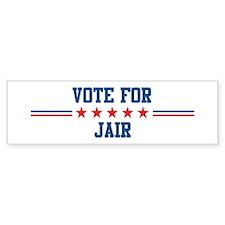 Vote for JAIR Bumper Bumper Sticker