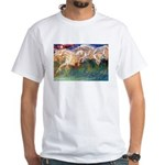 HORSES OF NEPTUNE White T-Shirt