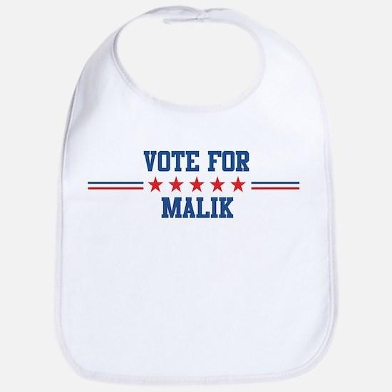 Vote for MALIK Bib