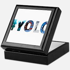 #YOLO Keepsake Box