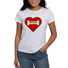 Westies Heart Tee