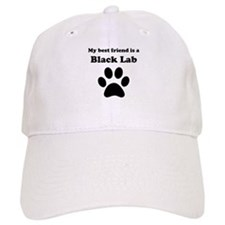 Black Lab Best Friend Baseball Cap