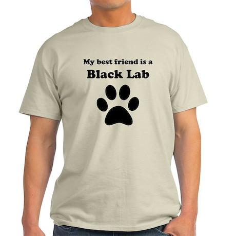 Black Lab Best Friend Light T-Shirt