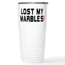 LOST MY MARBLES! Travel Mug