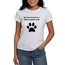 Chocolate Lab Best Friend Tee