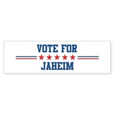 Vote for JAHEIM Bumper Stickers