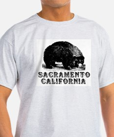 Sacramento Bear Ash Grey T-Shirt