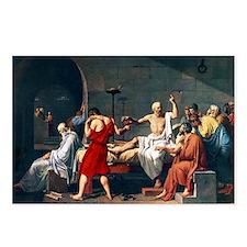 The Death of Socrates, 1787 artwork - Postcards