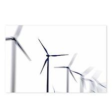 Wind turbines - Postcards