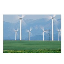 Wind turbines - Postcards