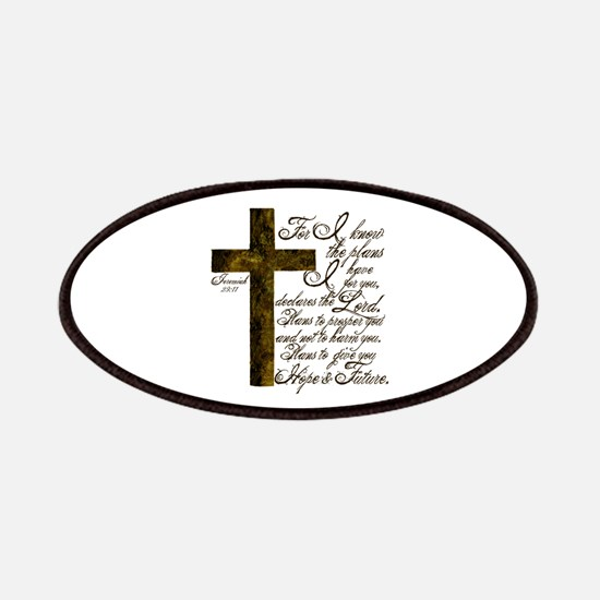 Plan of God Jeremiah 29:11 Patches