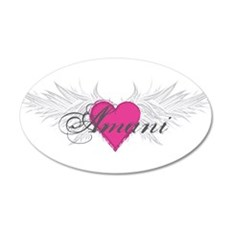 My Sweet Angel Amani 20x12 Oval Wall Decal
