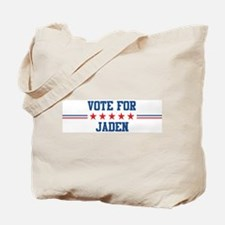 Vote for JADEN Tote Bag