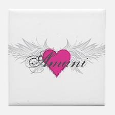 My Sweet Angel Amani Tile Coaster