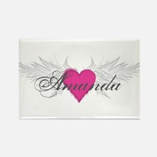 My Sweet Angel Amanda Rectangle Magnet (10 pack)