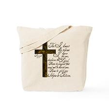 Plan of God Jeremiah 29:11 Tote Bag
