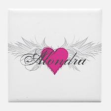 My Sweet Angel Alondra Tile Coaster