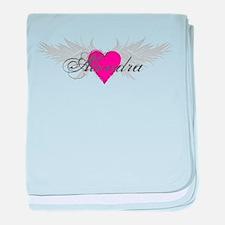 My Sweet Angel Alondra baby blanket