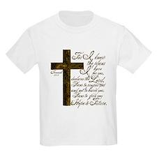 Plan of God Jeremiah 29:11 T-Shirt