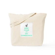 keep calm and do gymnastics Tote Bag