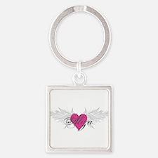 My Sweet Angel Aliza Square Keychain