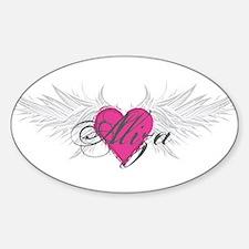 My Sweet Angel Aliza Sticker (Oval)