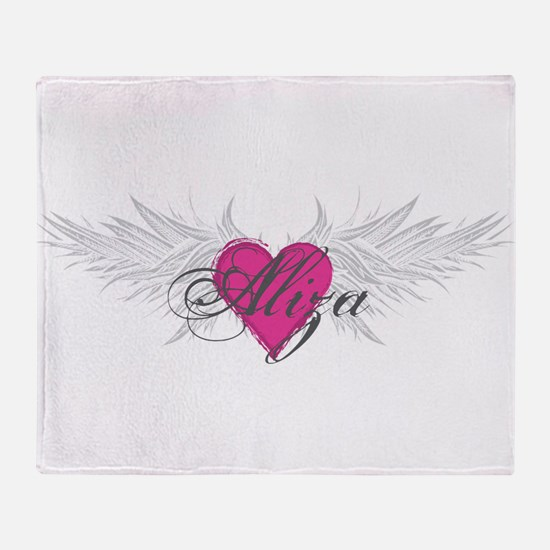 My Sweet Angel Aliza Throw Blanket