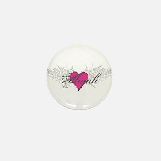 My Sweet Angel Aliyah Mini Button