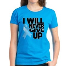 Never Give Up Prostate Cancer Tee