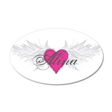 My Sweet Angel Alina 20x12 Oval Wall Decal